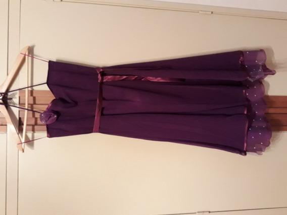 Vestido De Fiesta T.1 No Cher Chebar Zara Rapsodia Camarin