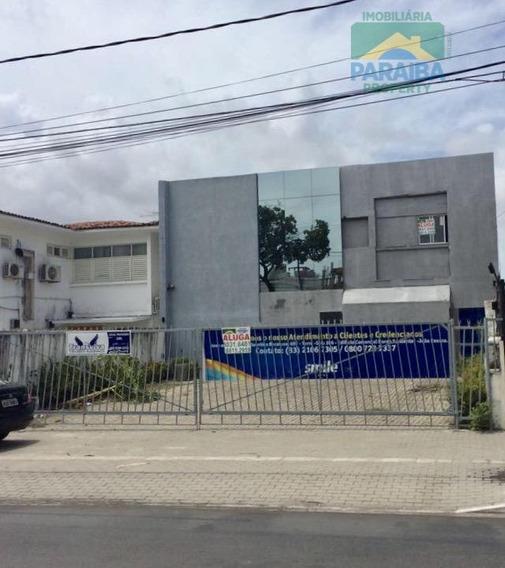 Prédio Comercial Para Venda Ou Locação - Centro - João Pessoa - Pb - Pr0042