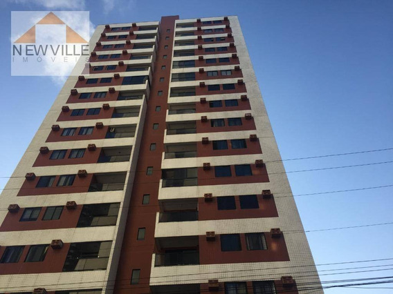 Apartamento Com 1 Dormitório Para Alugar, 67 M² Por R$ 1.800/mês - Boa Viagem - Recife/pe - Ap1310