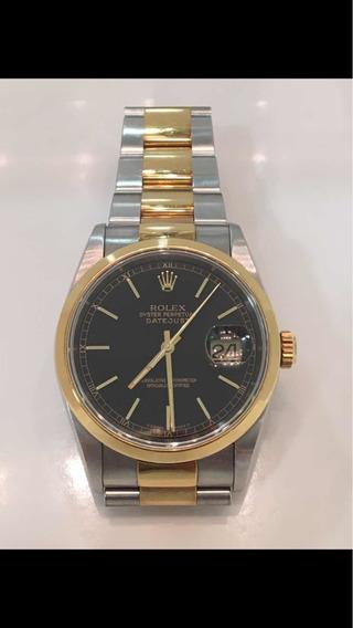 Relogio Rolex Datejust Ouro E Aco Caixa 41 Mm Original