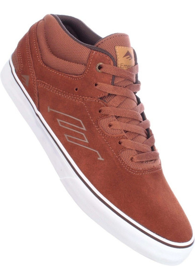 Zapatillas Emerica Westgate Mid Vulc / Brown White