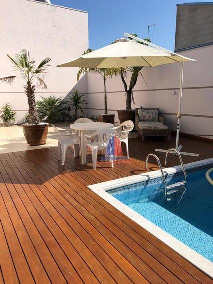 Casa Com 3 Dormitórios À Venda, 200 M² Por R$ 580.000 - Parque Residencial Klavin - Nova Odessa/sp - Ca1120