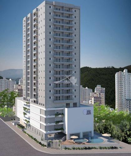 Imagem 1 de 11 de Apartamento Em Praia Grande, Jardim Real - V5540