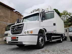 Mercedes-bens Atron 1319 4x2 Ano 2013 Baú Frigorífico Toco