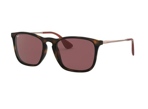 Óculos De Sol Ray Ban Rb4187 6391 (violeta, Marrom)