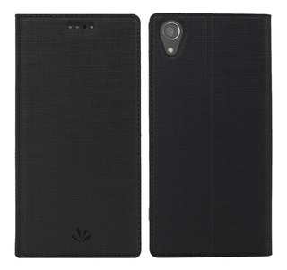 Funda Estuche Ejecutivo Flip Cover Sony Xperia Xa1 Plus