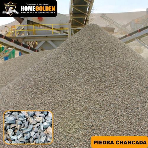 Imagen 1 de 1 de Piedra Chancada Arena Fina Arena Gruesa Saco 40 Kg