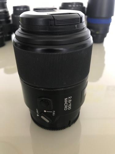 Lente Sony Sal100m28 100mm F2.8