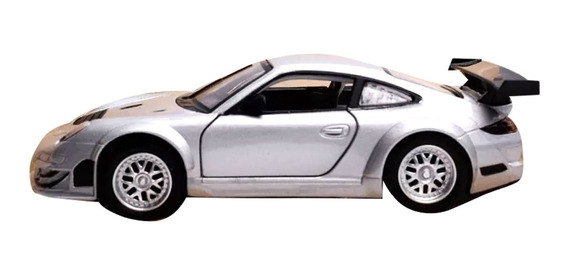 Auto De Coleccion Porsche 911 Gt3 Rsr Escala 1:32 Msz C/ Luz