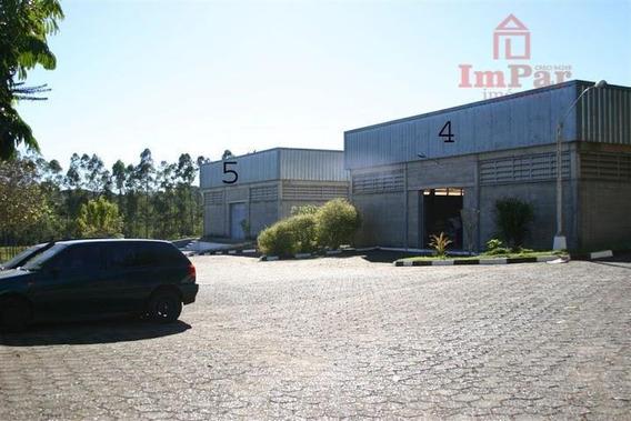 Galpão Para Alugar, 450 M² Por R$ 5.400/mês - Cidade Planejada Ii - Bragança Paulista/sp - Ga0073