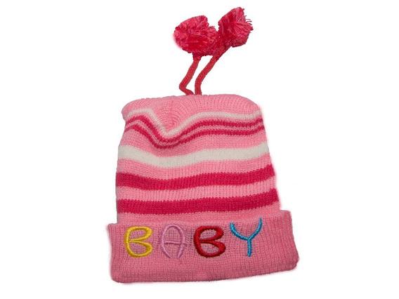 Gorro Infantil Baby Rosa 20 Unidades Sortidas