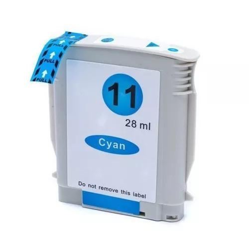 Cartucho De Tinta Hp 11 C4836a - Ciano - Compatível