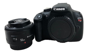 Camera Canon T5 Kit Lente Yn 50mm + Brinde Cartao 16gb Promo