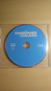 Guardianes De La Galaxia Marvel Blueray 3d