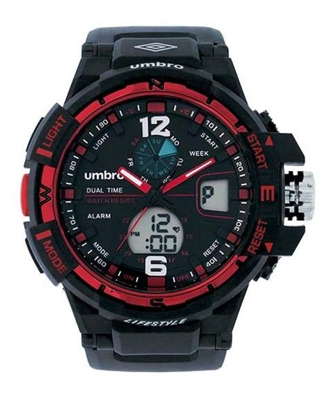 Relógio Umbro Masculino Umb-012-3 C/ Garantia E Nf