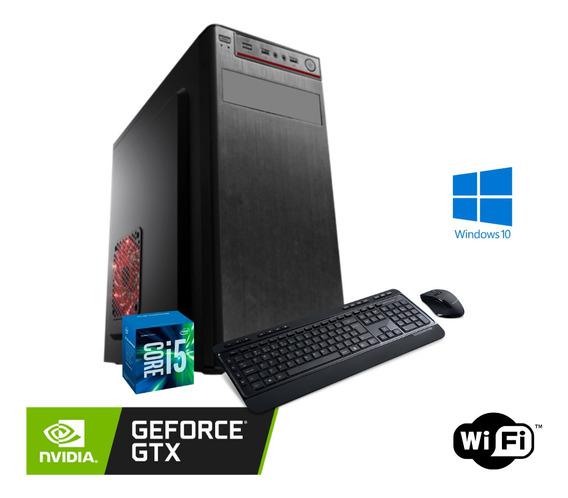 Cpu Gamer I5 16gb Ssd 120gb Win10 Fonte 500w + Gt 730 2gb.