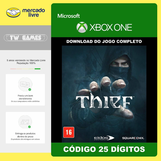 Thief Codigo 25 Digitos Original Microsoft Xbox One