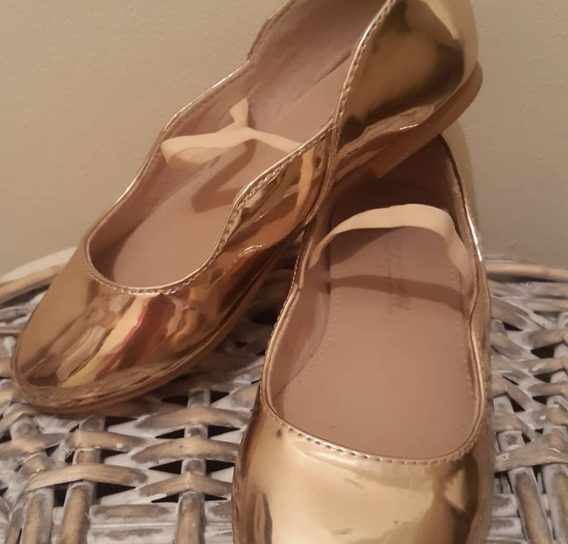 Zapatillas Zara Tipo Bailarina. Un Solo Uso