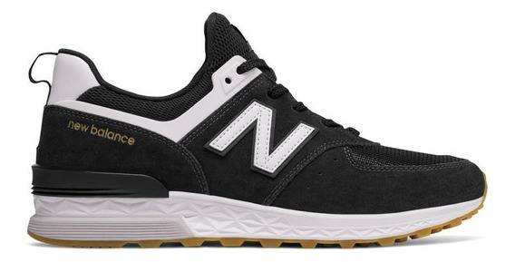 Zapatillas New Balance Ms574fcb - Negro
