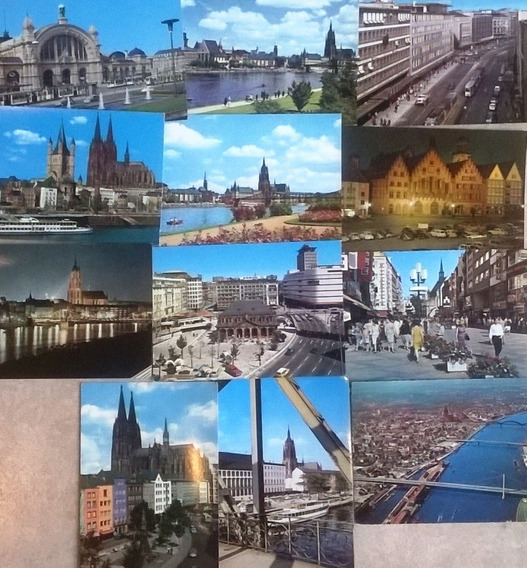 Postales Antiguas Europeas Y Varias