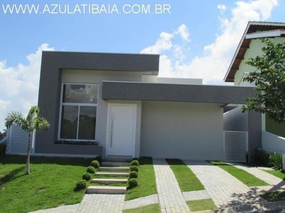 Belíssima Casa Nova Em Atibaia, Condomínio Terras De Atibaia - Ca00217 - 33502305