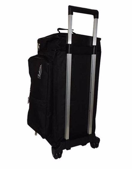 Bolsa De Viagem Com Carrinho 5 Compartimentos Reforçada