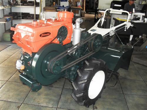 Tobatta 14cv Diesel Motor -transmissao Enxada Tudo Revisado