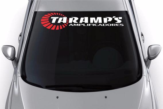 Adesivos Taramps Carro Som Automotivo Pancadão 90cm D203