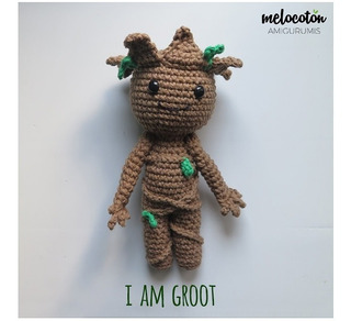 Making Baby Groot - Crochet Tutorial // duchessofcrafting - YouTube | 292x320