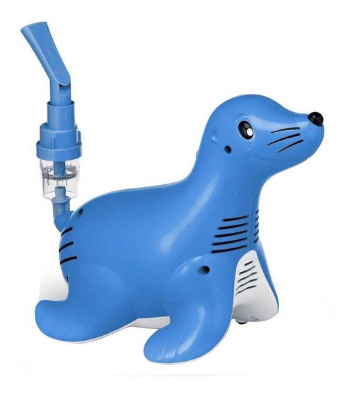 Nebulizador de compresor Philips Respironics Sami the Seal azul 110V