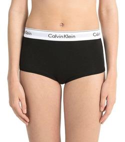 Calcinha Calvin Klein Boxer Logo Mar3891