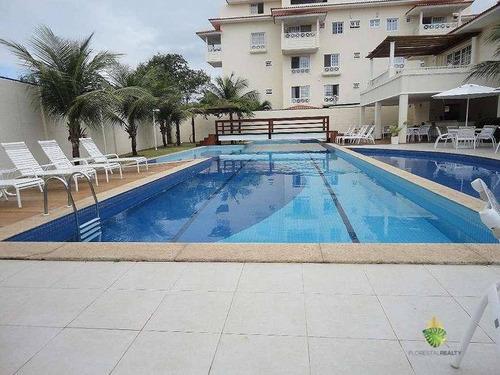 Apartamento Triplex À Venda, 220 M² Por R$ 819.000,00 - Piatã - Salvador/ba - At0001