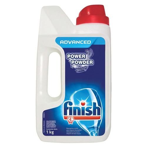 Detergente para lavavajillas Finish Automático Advanced polvo en botella 1kg
