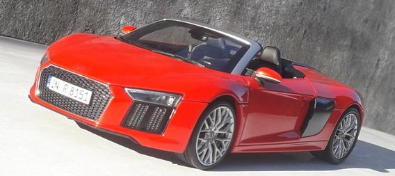 1:18 Miniatura Audi R8 V10 Spyder Iscale 0km Raro!