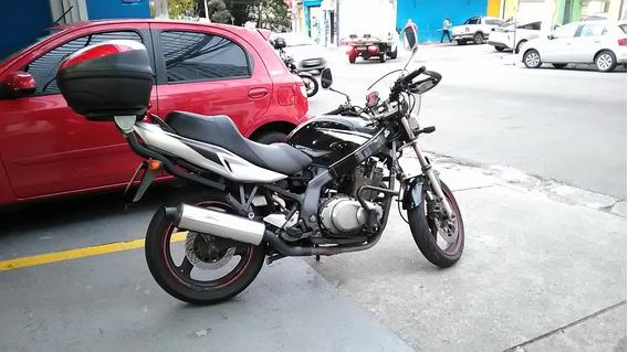 Gs 500 Suzuki, 2019 Preta, Em Ótimo Estado, Comprar E Andar!