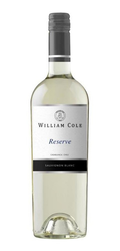 6  William Cole Reserve Sauvignon Blanc Ref. Retail $30.000