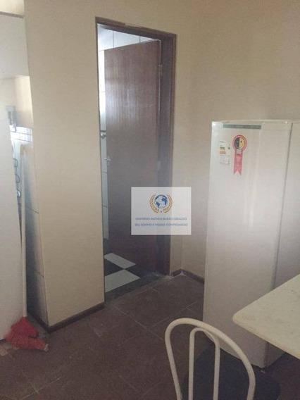 Kitnet Com 1 Dormitório Para Alugar, 30 M² Por R$ 1.300/mês - Cidade Universitária - Campinas/sp - Kn0044