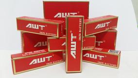 Kit 02 Baterias 18650 Awt 40000mah 40a Original