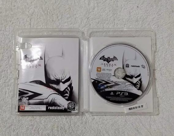 Batman Arkham City Midia Fisica Ps3 Usado