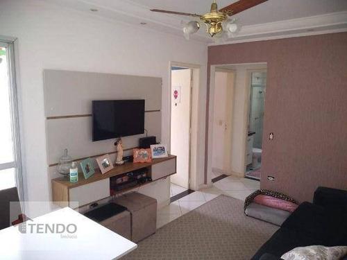 Imagem 1 de 20 de Imob01 - Apartamento 50 M² - Venda - 2 Dormitórios - Taboão - São Bernardo Do Campo/sp - Ap1541
