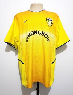 Camisa Futebol Oficial Leeds United Inglaterra 2002 Away Nike M