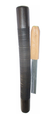 Guacharaca Guiros Trinche Fabricada En Madera 30 Centimetros