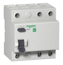 Interruptor Diferencial Residual Easy9 3p 30ma 80a Classe Ac; Schneider Ez9r33380