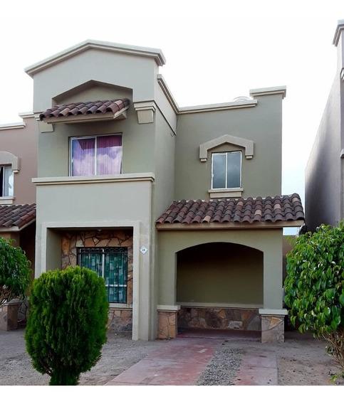 Casa En Renta - California Residencial - Norponiente De Hermosillo, Sonora