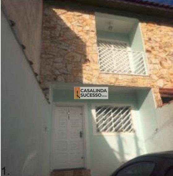 Sobrado Com 2 Dormitórios À Venda, 100 M² Por R$ 349.000,00 - Vila Ré - São Paulo/sp - So0693