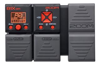 Pedalera Efectos P/ Bajo Zoom B1xon C/ Pedal De Expresion