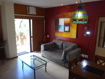 Flat Residencial Para Locação, Copacabana, Rio De Janeiro - Fl0072. - Fl0072