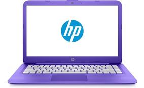 Notebook Hp Stream 14 Cb-113wn- 4gb/32gb Windows 10 -lilas