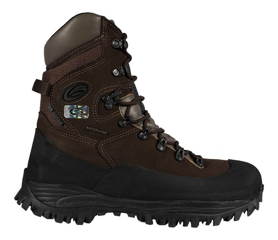 Bota Guartelá Modelo Attack Iii Dry Marron - Impermeável