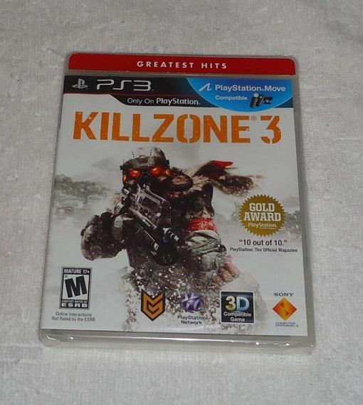 Killzone 3 Gh Ps3 Português Lacrado ** Leia